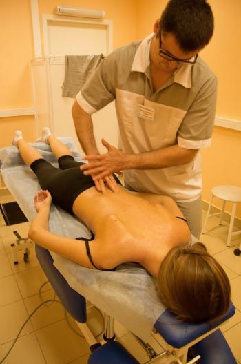 Лечебный массаж в Клинике Позвоночника