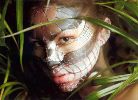 Боди арт - роспись по телу: украшаем свое тело