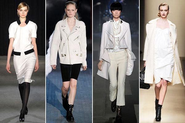 Красивая женская одежда или как носить белое