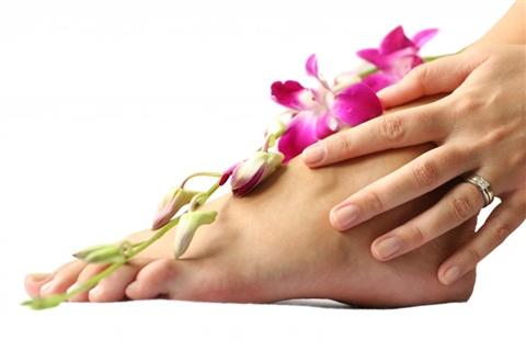 Как делать массаж ступней