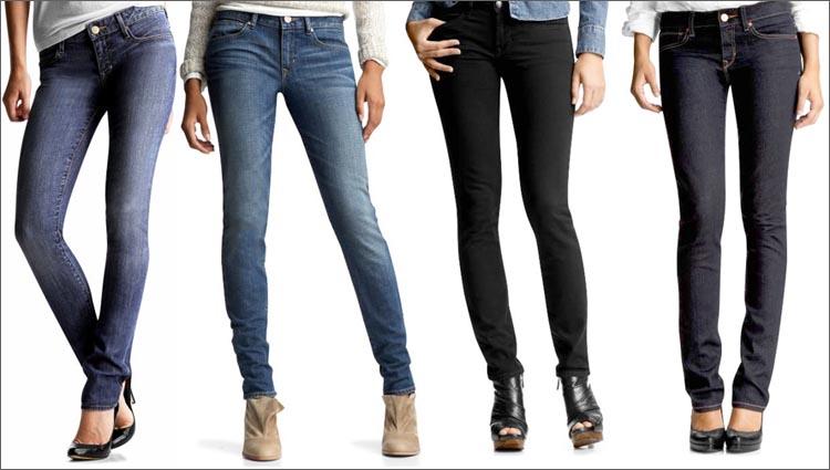 Разнообразные модели джинсов