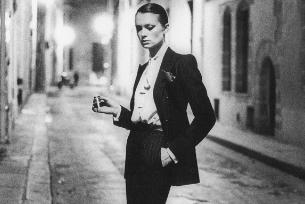 Модная деталь - женский смокинг